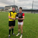 Best & Fairest Awards for @OfficialCorkGAA players in last night's @GAACelticChall matches.  Cork City: Nathan Goulding @GlenRovers_  Cork North: Alan Walsh @KanturkGAA  Cork East: Conor Fitzgerald @MidletonGaa