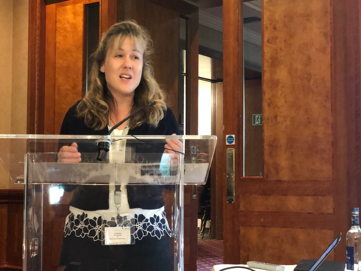 Thank you to @carolin99362548 for representing the nurse hysteroscopists on the @TheBSGE subcommittee opening a discussion on reaccreditation and the need for New national guidelines on Post menopausal bleeding  #BSGE2019
