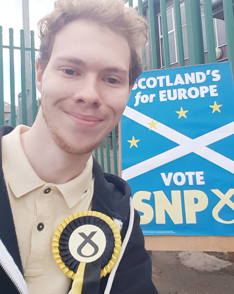 For 3 years Scotland's been completely ignored over Brexit, so today let's send Westminster and the EU-27 a message: #ScotlandsForEurope! #EUelections2019 #votedSNP
