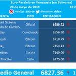 Image for the Tweet beginning: #Euro #Paralelo en #Venezuela  23/05/2019