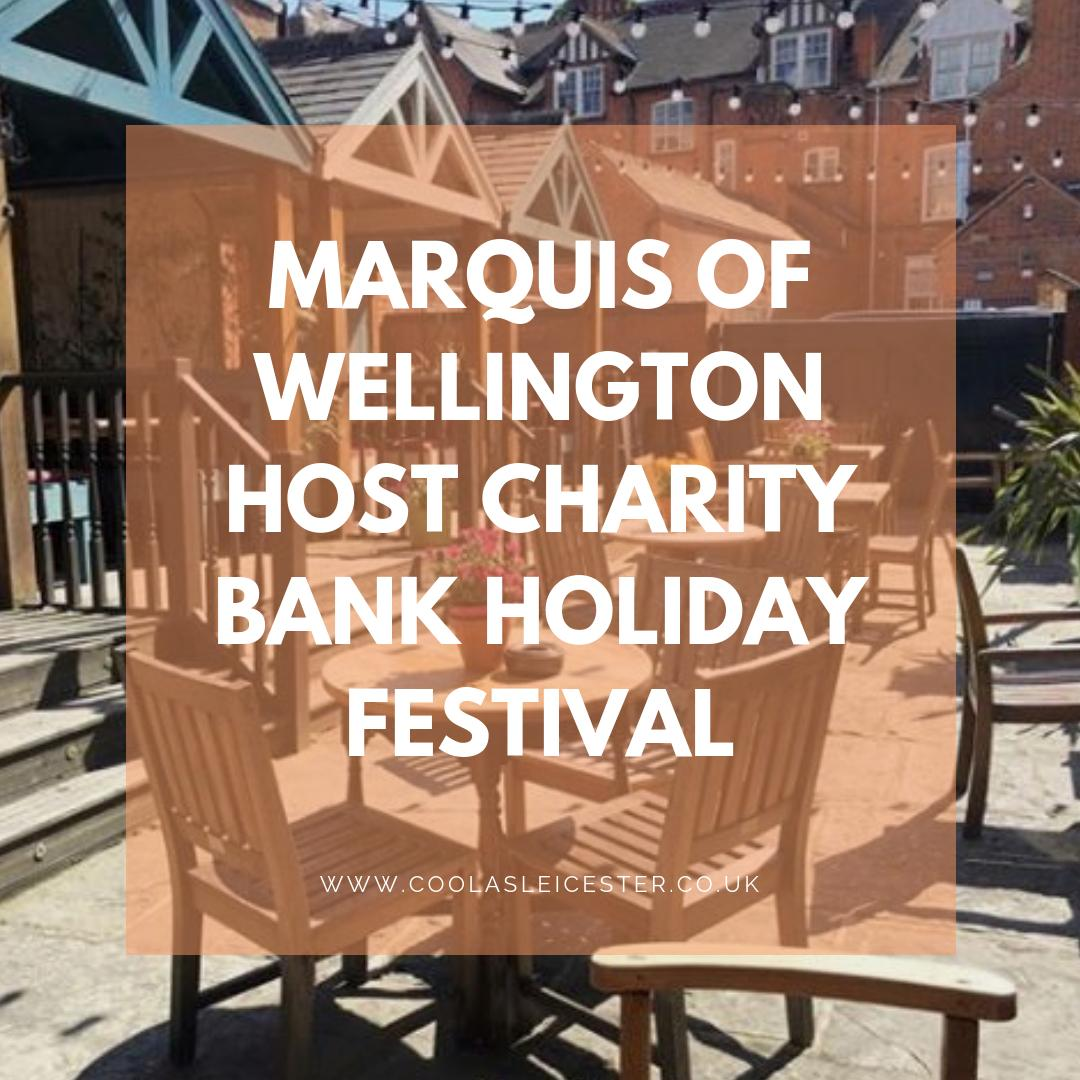 From today until Monday... gin, beer, cider, food, music, sunshine and all the fun. Plus they're raising money for @RainbowsHospice throughout!   Get down to @TheMarquisW this weekend.  ➡️ https://www.coolasleicester.co.uk/spotlight-marquis-of-wellington-hosts-bank-holiday-charity-festival/…  #leicester #whatson #whatsonleicester