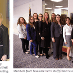 Image for the Tweet beginning: SWE's 2019 congressional outreach effort