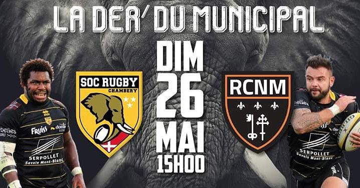 Ce week-end, nos joueurs se déplacent au Stade Municipal de Chambéry pour le...