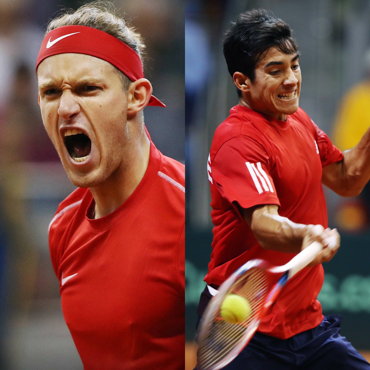 🇨🇱 @NicoJarry | @Garin_Cris  🇨🇱  #Wimbledon doubles ✅ #DavisCupMadridFinals doubles ❓
