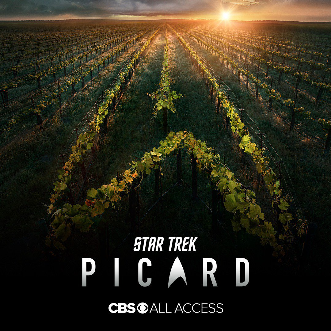 25 years after #StarTrek #TNG ended, a new chapter begins. #StarTrekPicard starring @SirPatStew is coming soon to @CBSAllAccess.