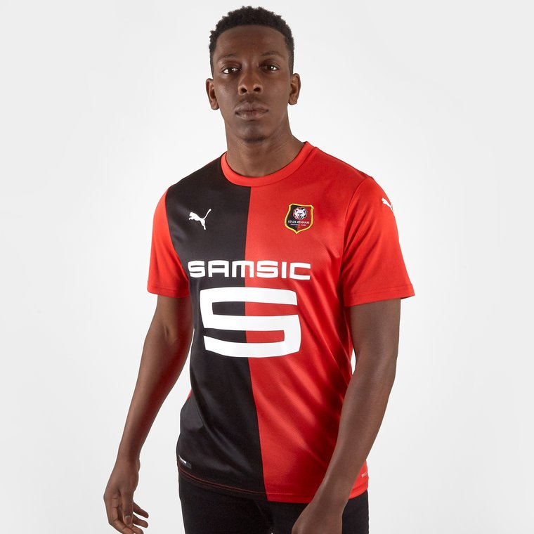 The new Rennes kit for 2019/20 will be officially unveiled tomorrow. Leaked pic of what is likely to be the new shirt #SRFC #StadeRennais #Ligue1 #Puma<br>http://pic.twitter.com/p7CD5QoFaq