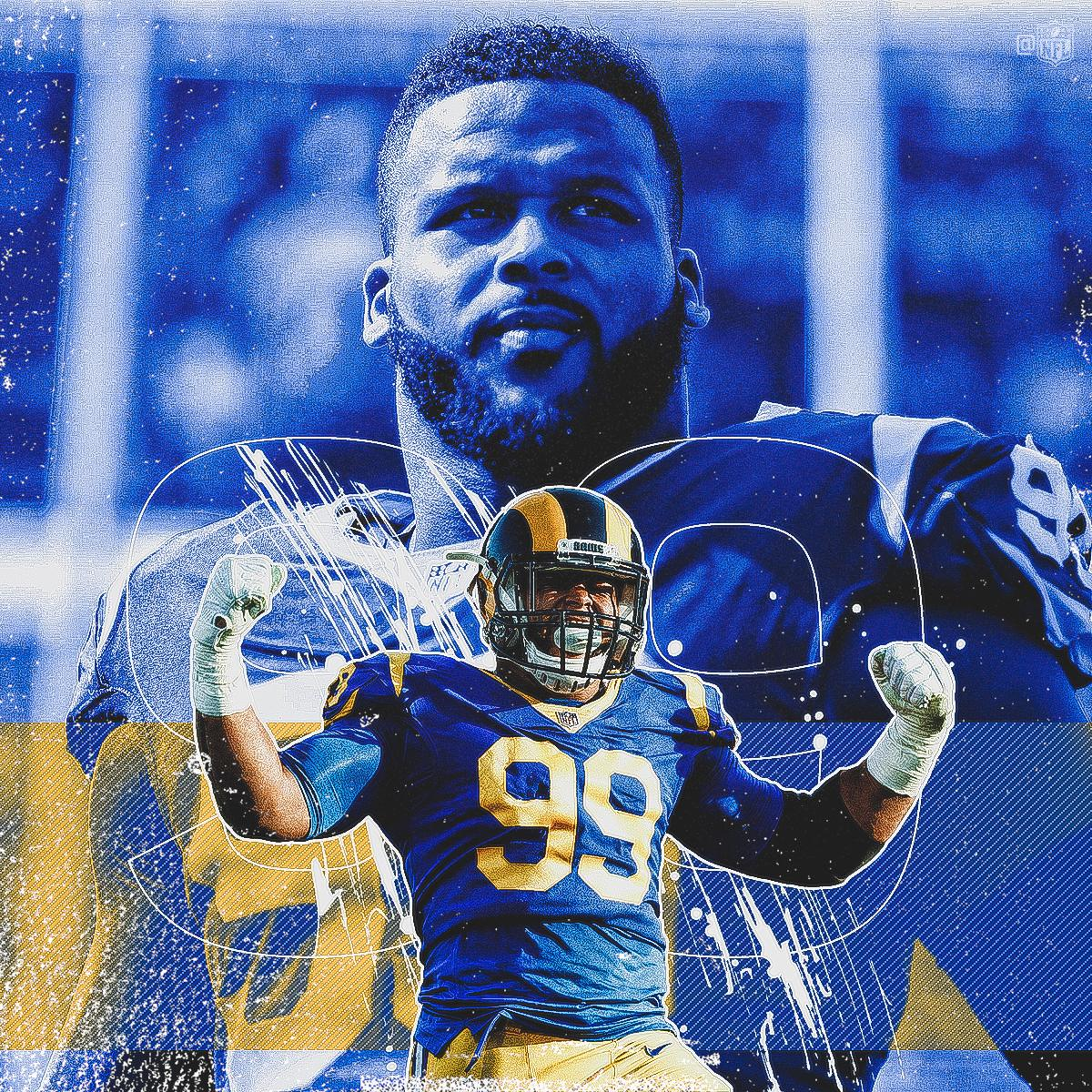 HAPPY BIRTHDAY to @RamsNFL star @AaronDonald97!  Back-to-back Defensive Player of the Year  All-Pro in four of his five NFL seasons  59.5 career sacks + 97.0 career TFL <br>http://pic.twitter.com/iihkQ7yIAI