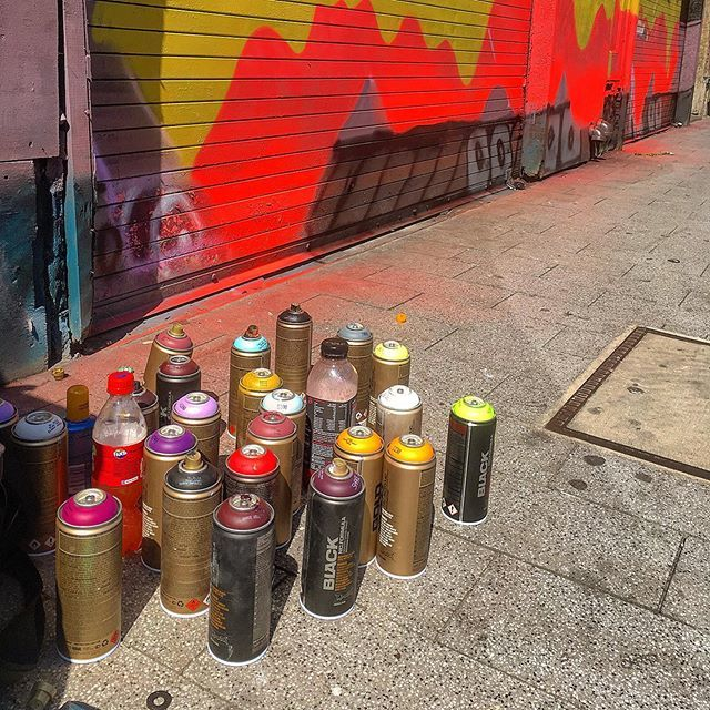 When the cherry pickers appear and smell of spray paint fills the air it must be time for the @bring_the_paint #Streetart festival in #Leicester @visitleicester @bidleicester @bbcleicester @bbcemt @graffwerk - http://bit.ly/1gNxEmw