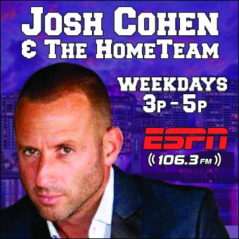 Didn't catch yesterday's @JoshCohenRadio & The #HomeTeam (5/22)?   Hour 1: Drake is annoying, @DinThomas booked a UFC fight at a soccer tryout 🔊 https://bit.ly/2JBsHm1      Hour 2: #Lakers are screwed, @KLV1063 loves a French Viagra story 🔊 https://bit.ly/2wfZKU5