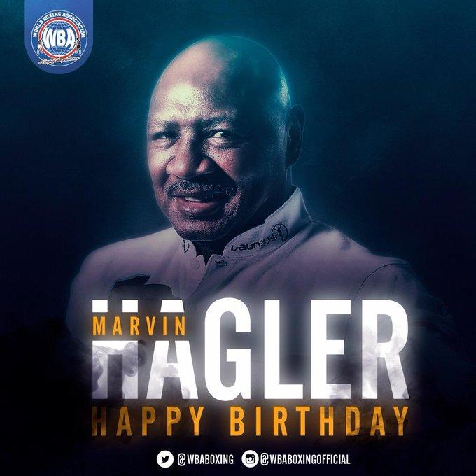 Happy birthday to Marvelous Marvin Hagler