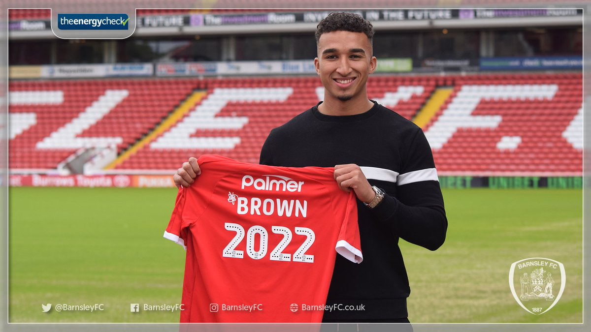 📄 | Read the full story as the 🌟 man signs a new contract with the Reds, until 2022.  ➡️ http://bit.ly/Brown2022  #WeAreGoingUp