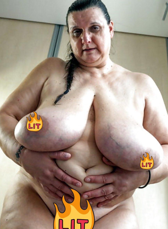 голые старые с большими сисями пару