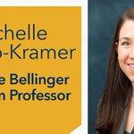 Image for the Tweet beginning: Dr. Michelle Munro-Kramer has been