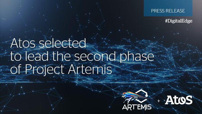 The French Defense Procurement Agency selects the consortium led by @Atos for Project Artemis,...
