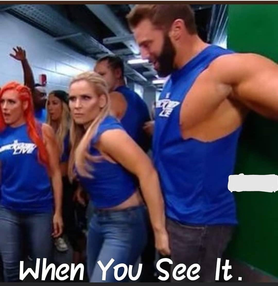 Oh @NatbyNature what the... , #CatchRaw @WWE @ZackRyder<br>http://pic.twitter.com/NCHU0y5wut