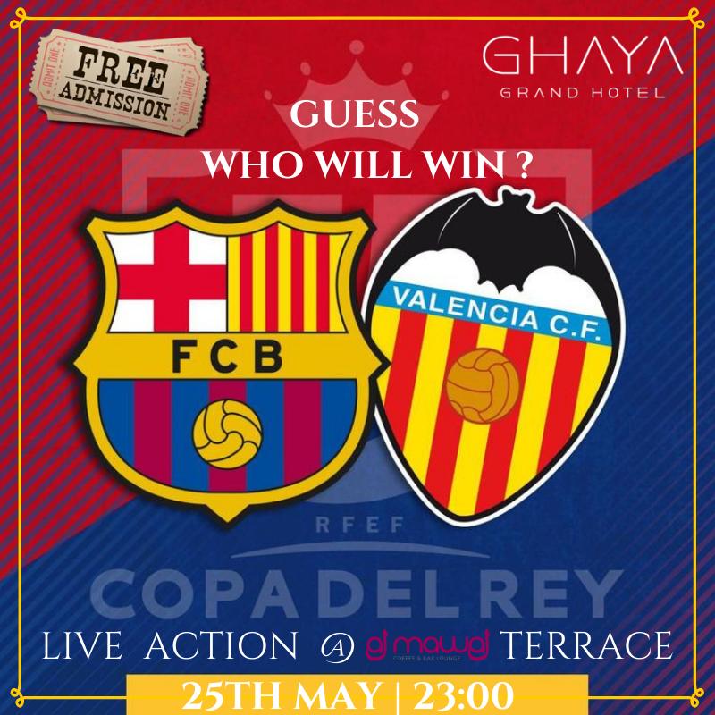 Ghaya Grand Hotel's photo on FC Barcelona