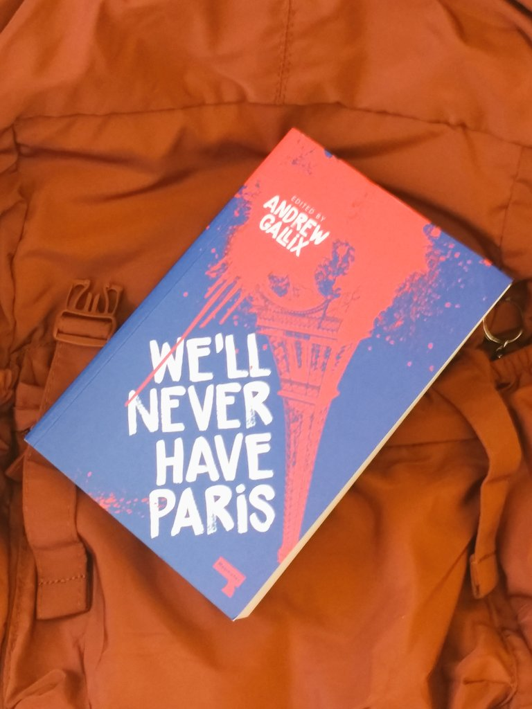 Picked up my copy of #WellNeverHaveParis today and VERY much looking forward @andrewgallix @RichardNSkinner @maxjohnporter and others! @RepeaterBooks 🇫🇷🗼