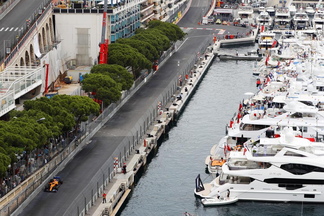 Obligatory harbour shot. 🛥️🏁  #MonacoGP 🇲🇨