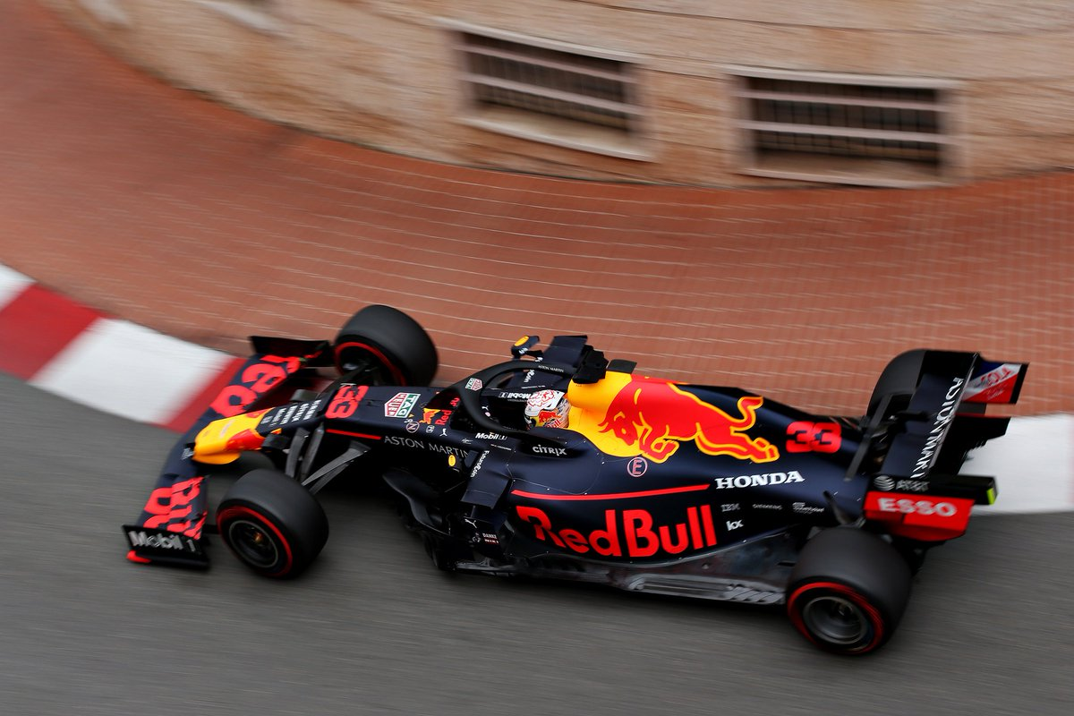 A great start to #MonacoGP with @Max33Verstappen in P2 for FP1. Lets see what FP2 has in store for us.   #AstonMartinRedBullRacing
