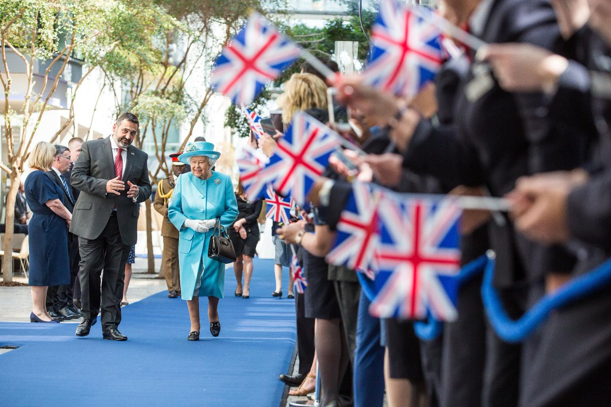 Today marks a very special day for all of us at British Airways as we warmly welcomed Her Majesty The Queen in a visit commemorating our 100th Anniversary. @RoyalFamily #BA100 #BritishAirways #Centenary