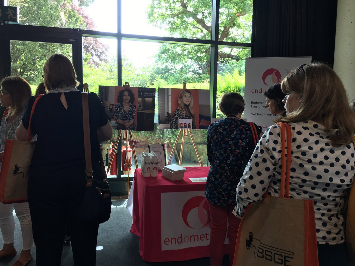 It's been busy at our #BSGE2019 stand today! Thank you to all the nurses, specialists and surgeons for coming to talk to us about #endometriosis and supporting women with the disease. Your help & voice is critical to ensuring women get the care they deserve @TheBSGE