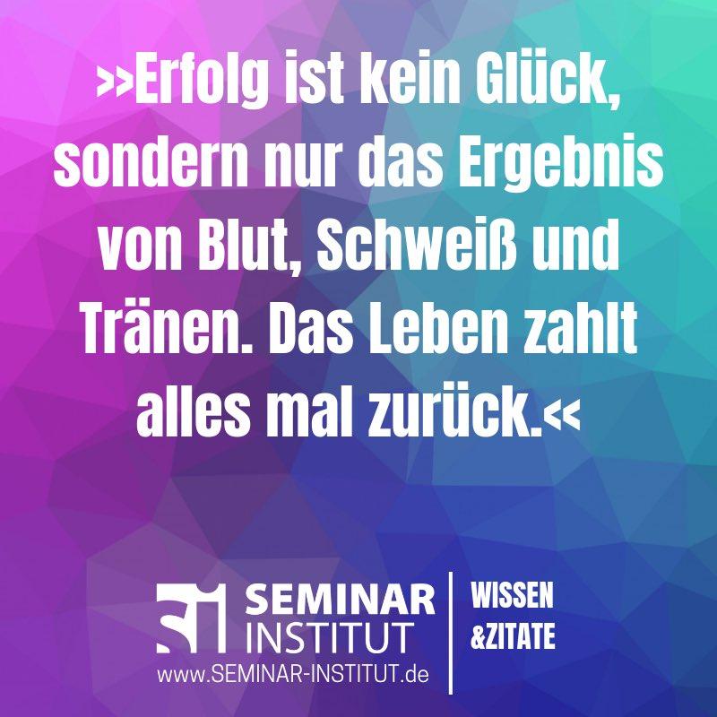 Seminar Institut On Twitter Erfolg Ist Planbar Https