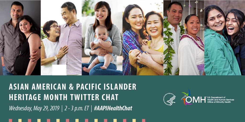 May is Asian American and Pacific Islander Heritage Month. Join us on May 29 at 2 pm ET as we talk about #AAPI health, diabetes, prevention and more. Use #AAPIHealthChat to participate.