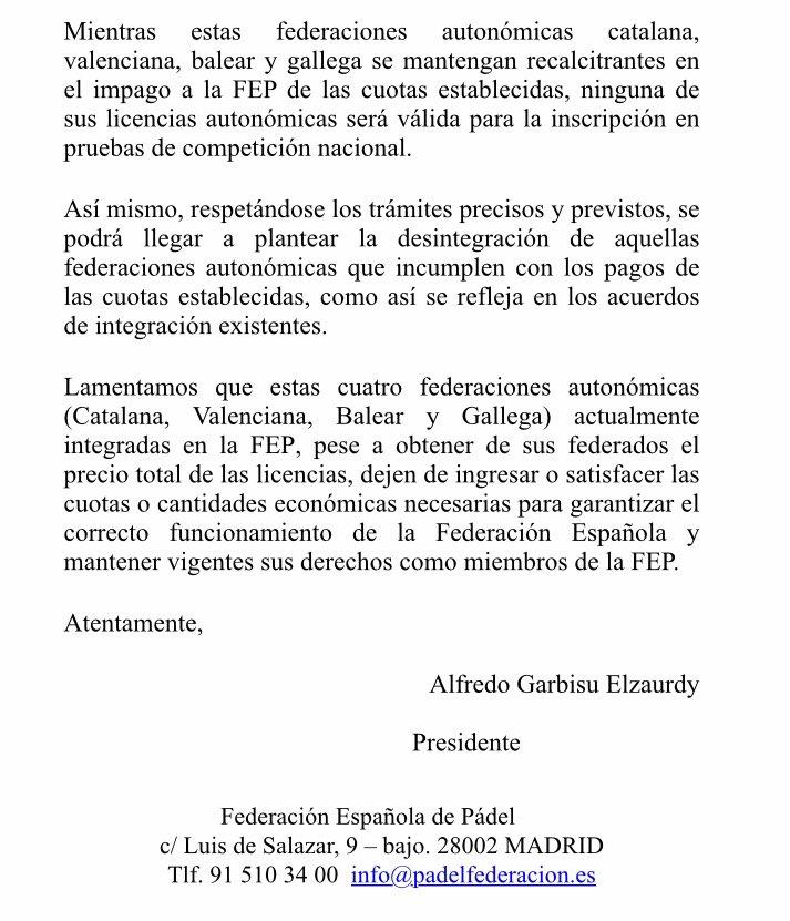 La FEP permitirá participar a todos los menores en el TyC de Madrid 1