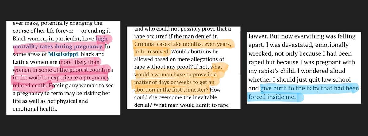 Three salient points in Alexander's piece, often missed in this debate: