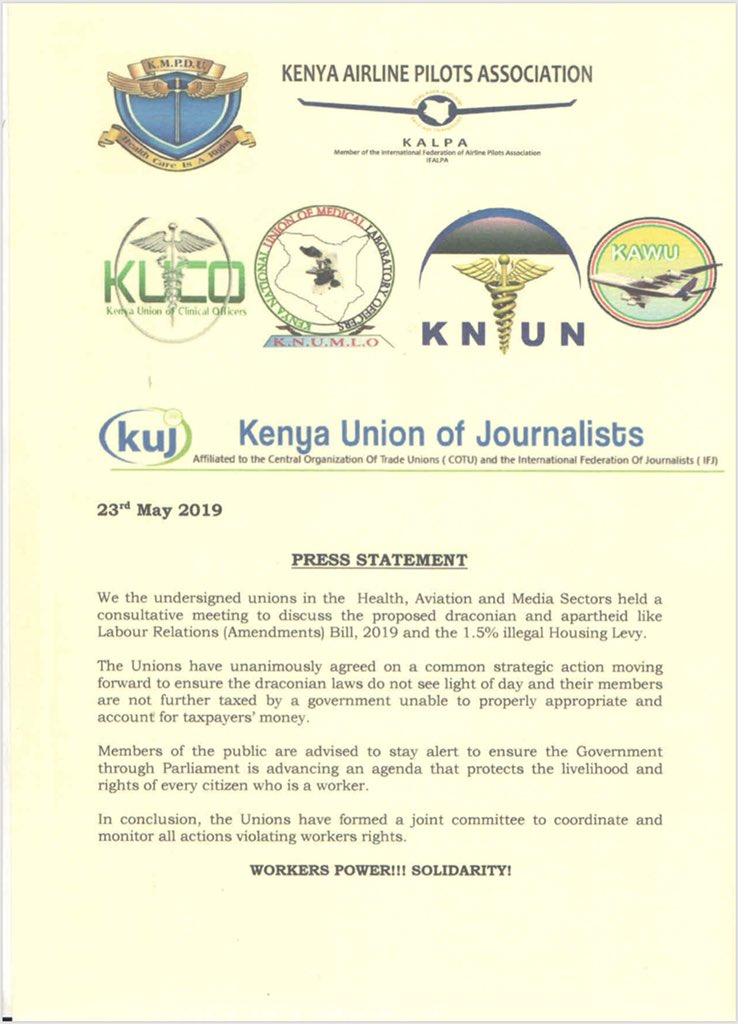 Kenya Union of Clinical Officers (@kUCOofficial) | Twitter