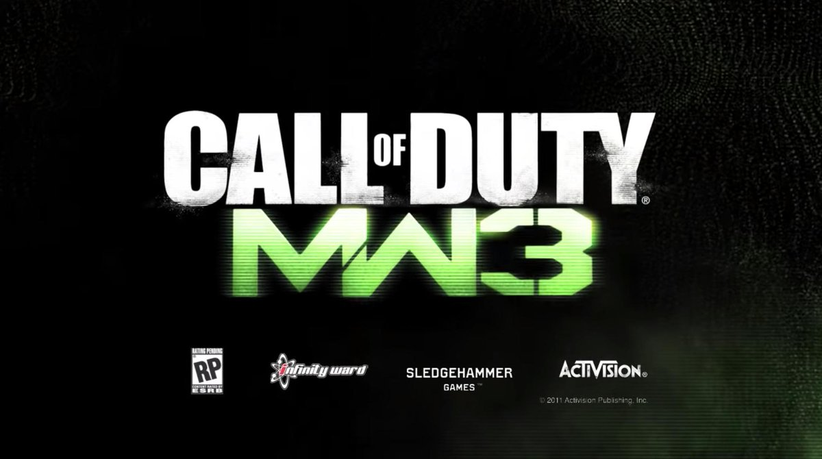 8 years ago today, on May 23, 2011, Call of Duty: Modern Warfare 3 was first revealed.