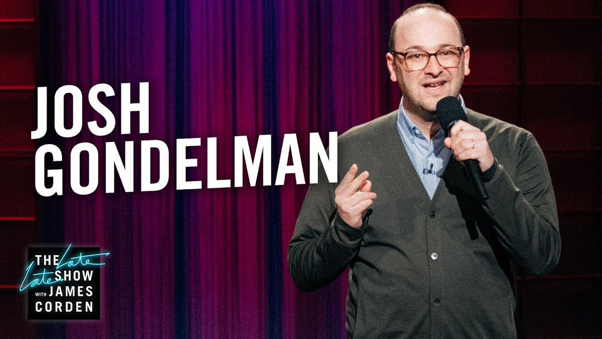 Josh Gondelman with a great set on The Late Late Show! buff.ly/2M8iOOW