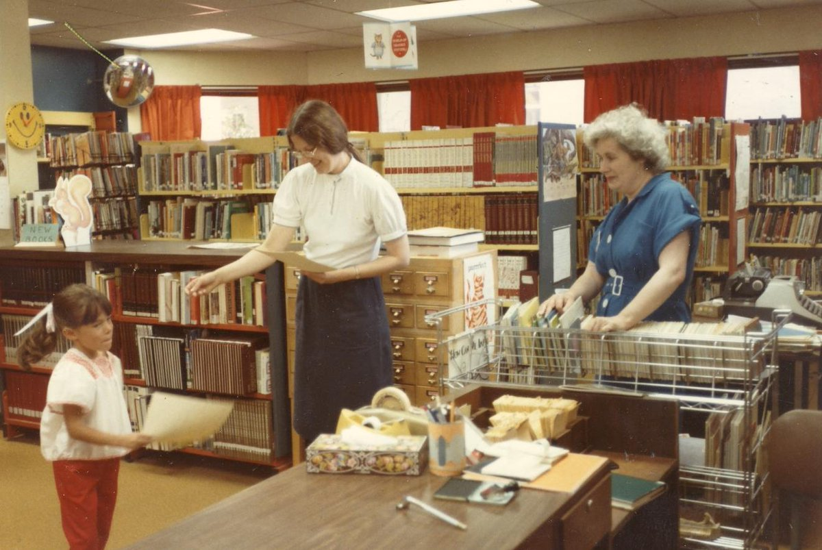 Cobourg Library's photo on #throwbackthursday