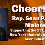 Image for the Tweet beginning: Thank you @RepSeanMaloney for sponsoring