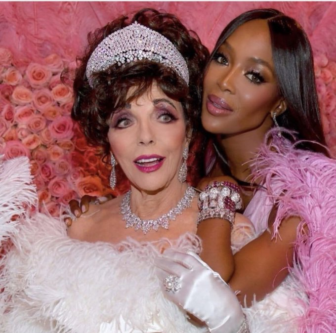 Happy Birthday to original star, Dame Joan Collins!