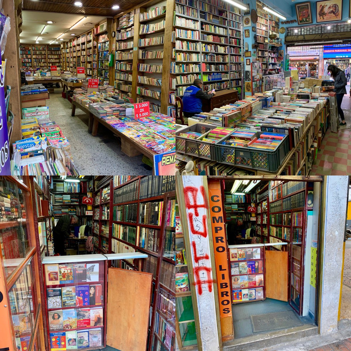Plenty of great used bookstores in #bogota #colombia2019 #mygft