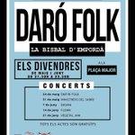 Image for the Tweet beginning: Empiri Folk, Ministrers del Sabre,