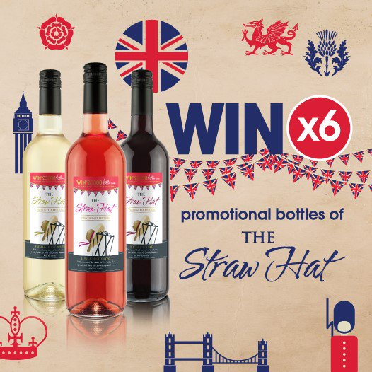 #COMPETITION TIME  We&#39;ve teamed up with Straw Hat to offer you the chance to #WIN SIX promo bottles of wine!  For your chance to #WIN, simply FLW/RT &amp; COMMENT your favourite - Red, White or Rose!  Competition ends 9am 24/5/19  For 18+ only! Please drink responsibly. <br>http://pic.twitter.com/vZ3T0skZ1r