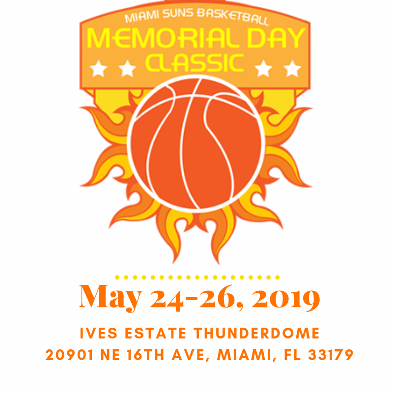 2019 Memorial Day Classic kicks off Friday.  One of the longest running travel basketball tournaments in the state of Florida has a solid lineup of teams competing over the holiday weekend!!! #MDC2019 <br>http://pic.twitter.com/WLNZQ9CEBE