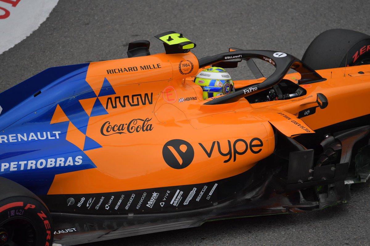 Into the last few minutes of #FP2 here in Monte Carlo.  #MonacoGP 🇲🇨