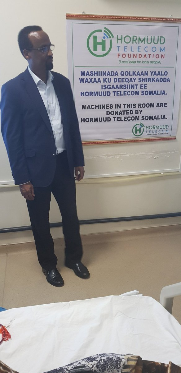 Visited today Erdogan Hopital in Mogadishu(Ex Dgifeer), Dialysis ward to monitor the operations of 5 Machines we donated before and the situation of the patients. Kindney failures are increasing now a days in the country and patients need more help and support <br>http://pic.twitter.com/BUiFR6lsOX