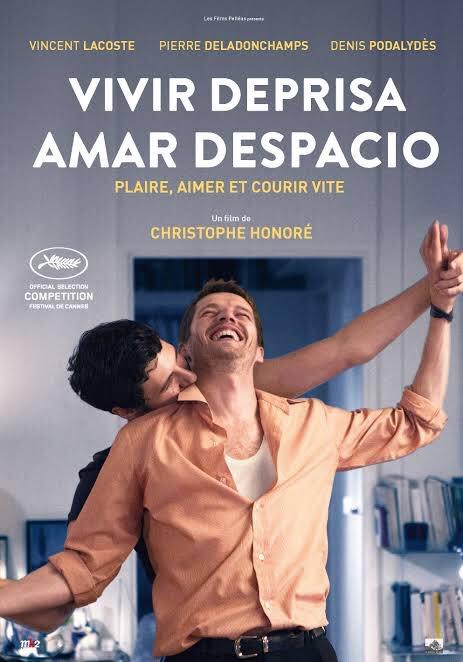 #VivirDepresaAmarDespacio Gran Joya de #Cannes2018 presente en #Mix2019 Deja una gran reflexión de vida.
