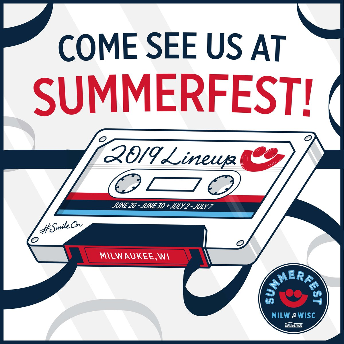 deep in the studio making the album —- but need to come out and feel your energy. summerfest. let's make this a legendary bleachers show. see you july 6th milwaukee https://t.co/4dIGuK7nmk https://t.co/4OCkn8nEfE
