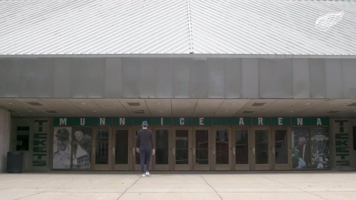 .@Tarzy17 goes back to his old stomping grounds of @MichiganStateU to discuss his road to the #RedWings.