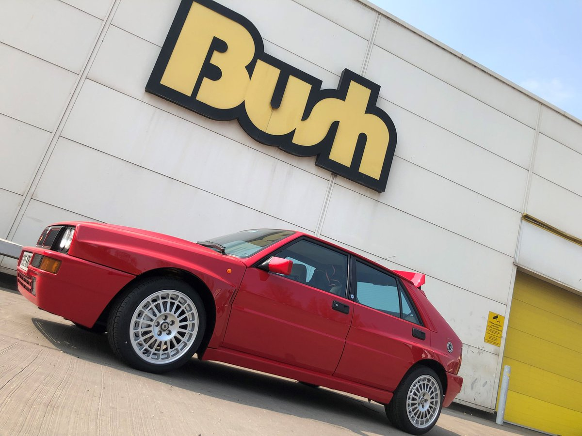 Stunning #Lancia Delta Integrale Evo in for a new pair of 20545ZR16 Pirelli Pzero Nero Gts at our #Scunthorpe Centre <br>http://pic.twitter.com/gt36qaUNNM