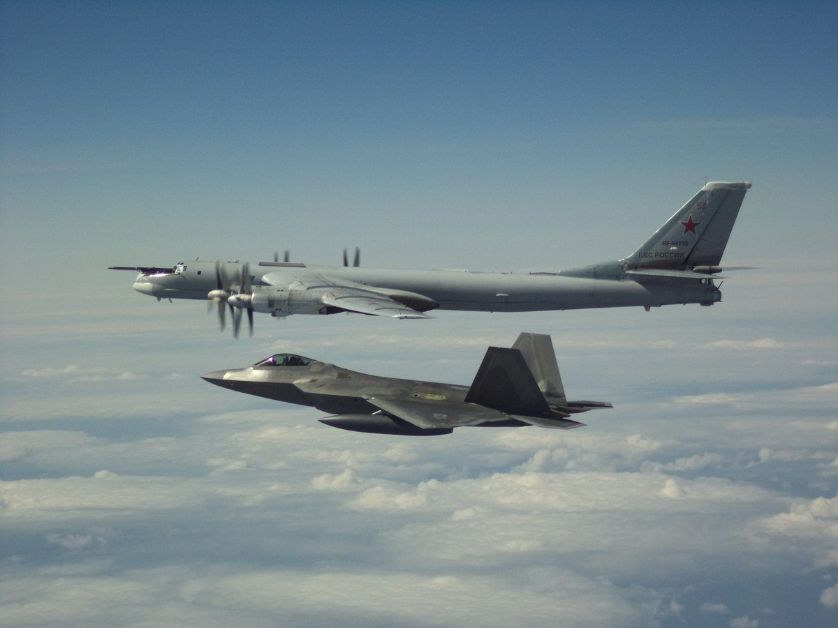 """Monday Russians: """"Let's fly near North America.""""   @NORADCommand: """"We see you.""""  Tuesday Russians: """"Let's fly near North America.""""   NORAD: """"We. See. You.""""  Future Russians: """"Let's fly near North America.""""   :  #WeHaveTheWatch  #Alaska #AirForce<br>http://pic.twitter.com/TG3xXYytJt"""