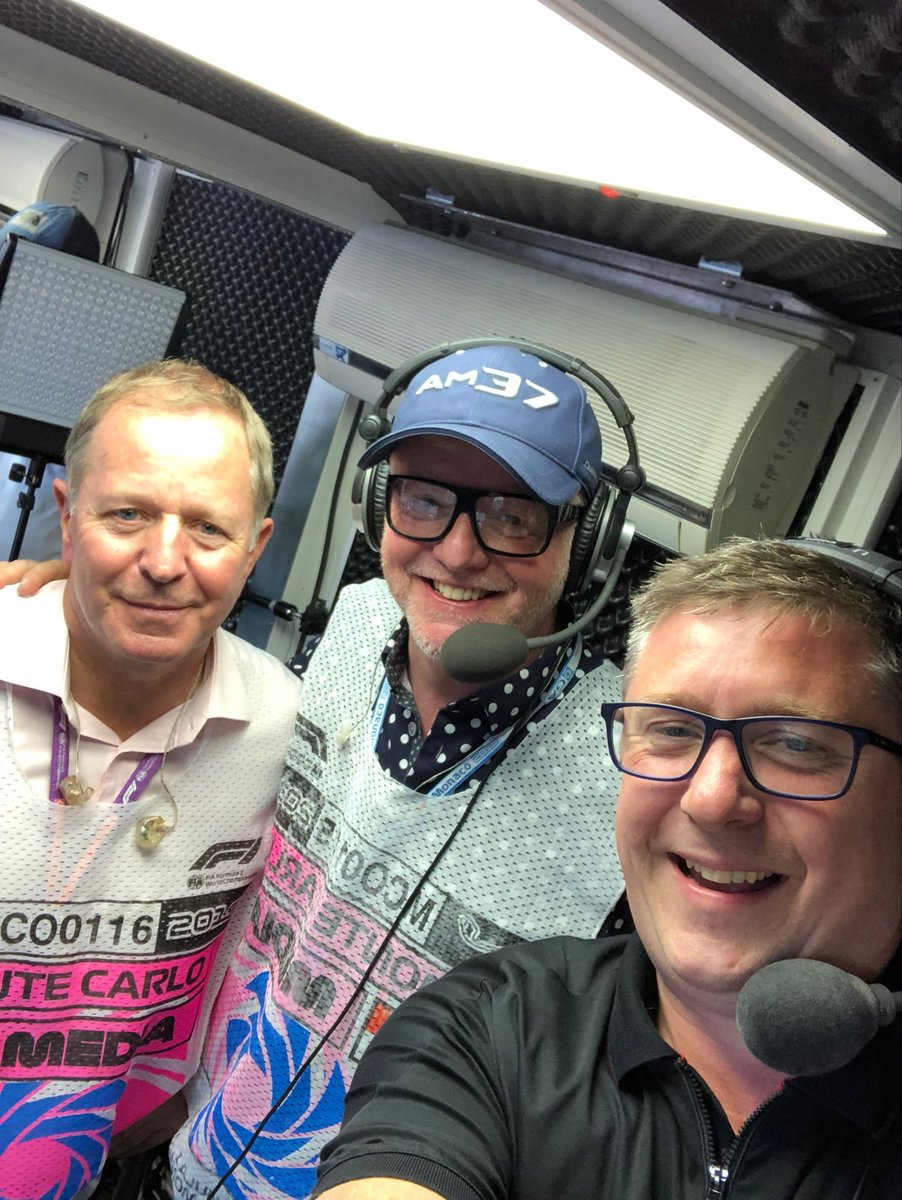 Proper delight to have Chris Evans join us all trackside & in the commentary box this afternoon. Hope you guys enjoyed the action just as much. Monaco - F1's rock and roll #f12019 @SkySportsF1