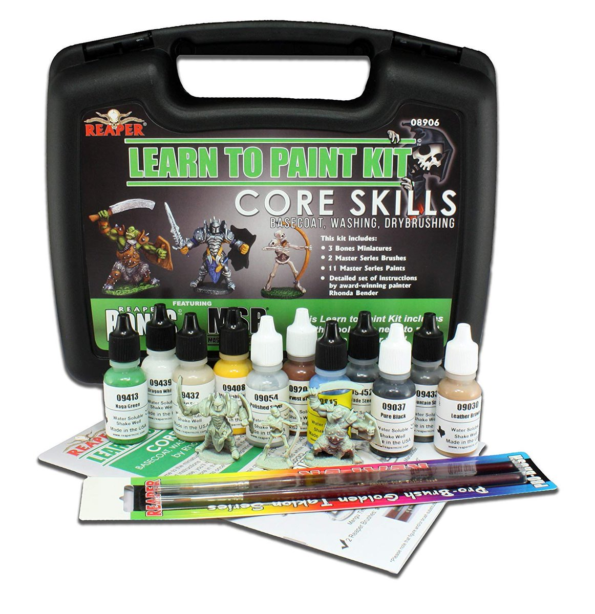 Giveaway Time!! Follow and RT for a chance to win a Reaper Miniatures Learn To Paint Kit! I will randomly choose a winner on June 6! #DnD <br>http://pic.twitter.com/BzuAgsz7bF