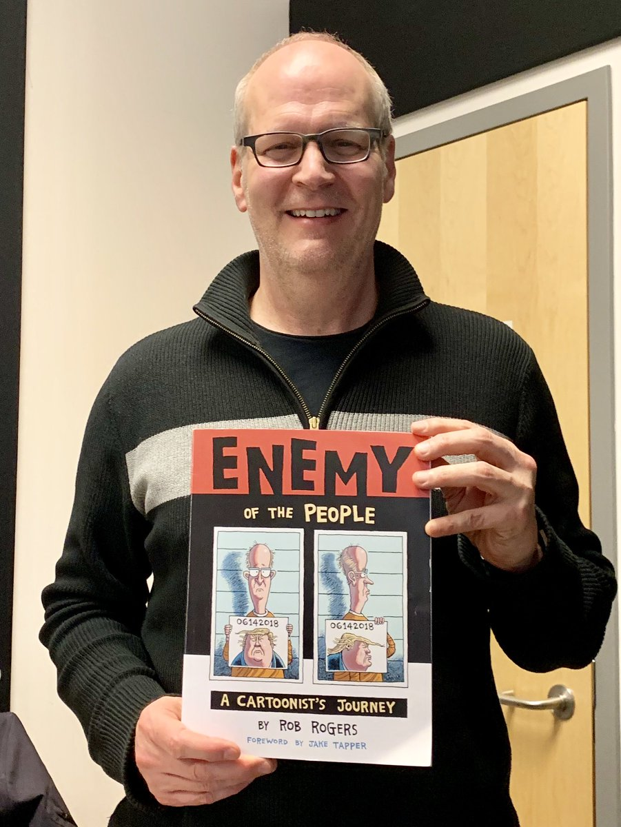 Tune in to @WPSU at noon Friday to hear an interview with political cartoonist @Rob_Rogers