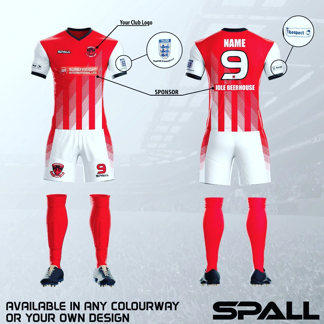 f9dfc839a37 #spall #spallsports #sports #kit #unique #bespoke #custom #football  #sublimation #activewear #qualitypic.twitter.com/fCZK4fv2xN – at Spall